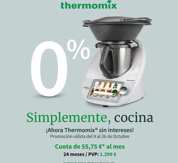 Super promoción Thermomix® TM6!!! por tiempo limitado