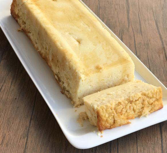 PLUM CAKE DE YOGUR Y MANZANA .... SIN GLUTEN