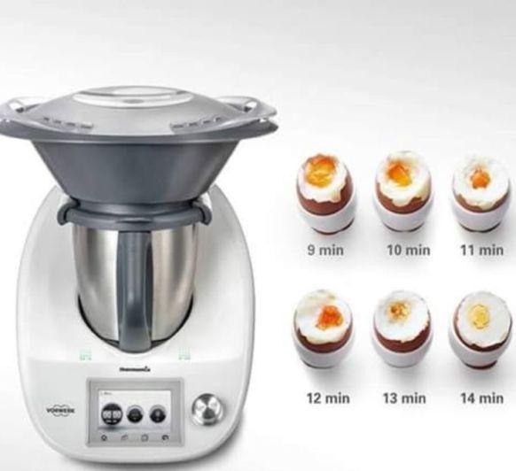Cocción de huevo
