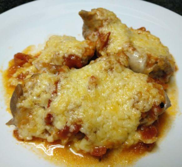 Pollo a la Piazzola
