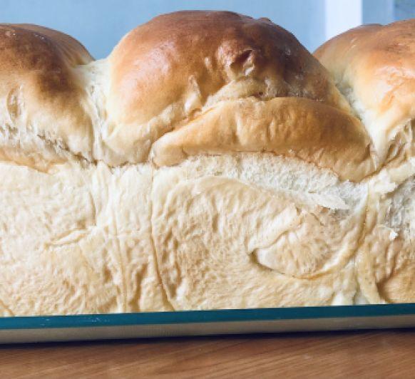 Pan de leche Japonés o Pan Hokkaido