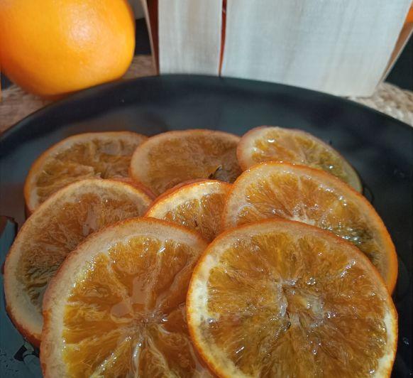 Naranjas confitadas de nuestra tierra