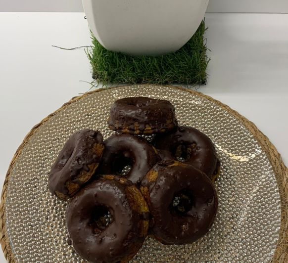 Donuts saludables (sin harina, ni edulcorantes, ni lácteos)