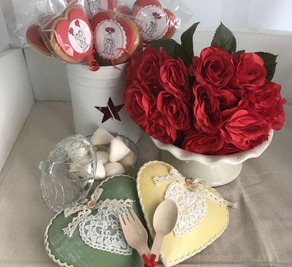 ¿¿Preparando ya los enamorados por casa??!!Galletas de mantequilla para SAN VALENTIN