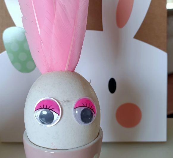 Huevos pintados.... Disfrute como una niña.