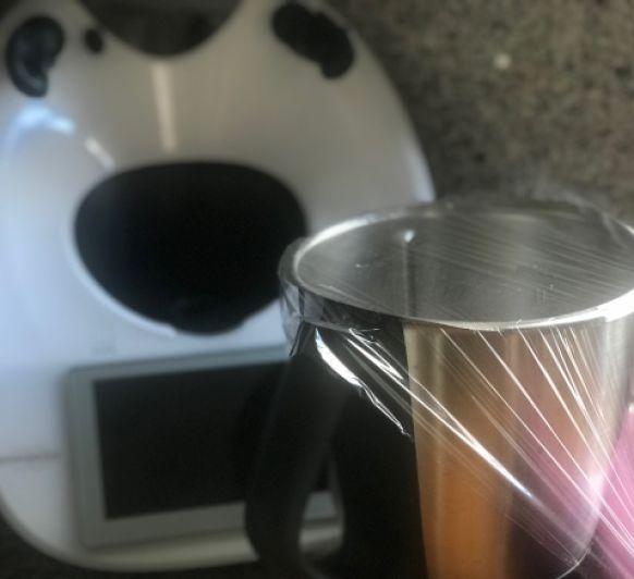 Azúcar glass sin manchar