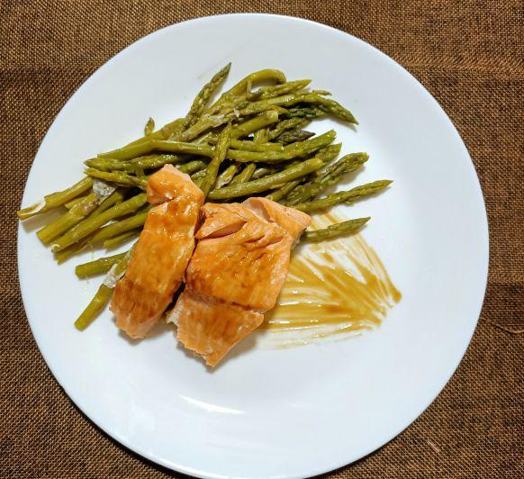 Receta de Salmón al vapor con verduras, Saca tu Varoma del armario .
