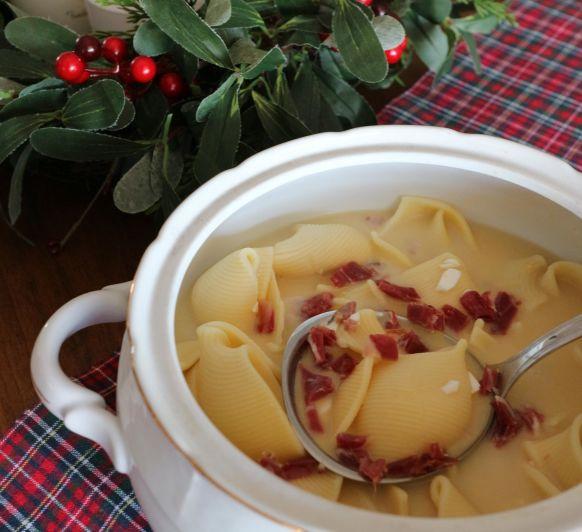 Cómo preparar sopa de Navidad